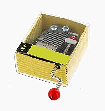 Caja de música / caja musical / mecanismo musical / movimiento ...