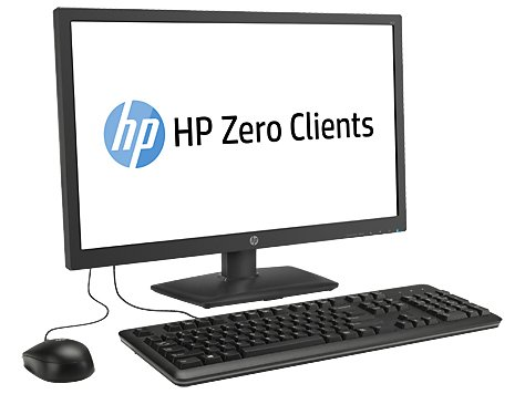HP T410 SMART ALL-IN-ONE Monitor Keyboard Mouse Zero Client ARM Cortex A8 1.0GHz 2GB 18.5'' (1366x768) H2W21AA by HP