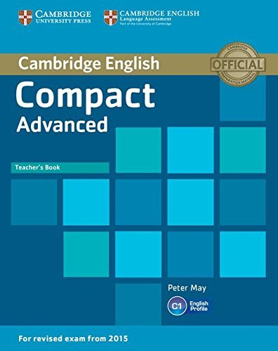 Compact Advanced Teachers Book by Peter May 2014-10-27: Amazon.es: Peter May: Libros