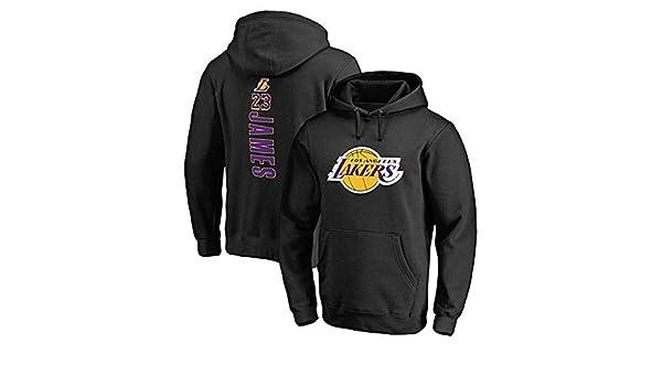 DGSFES Sudadera con Capucha de Baloncesto para Hombre Lakers # 23 ...