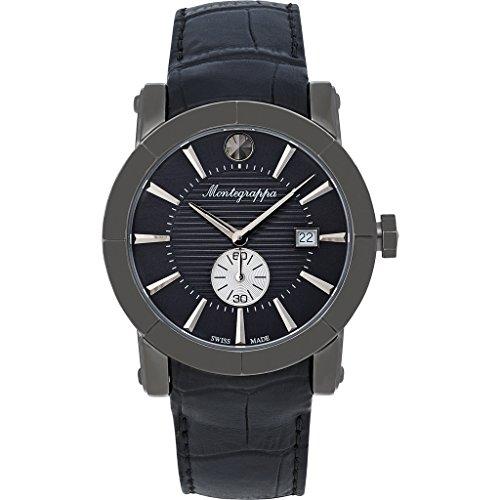 Montegrappa NeroUno Sub Seconds Men's Watch Swiss Made IDNLWAIJ Swiss Made