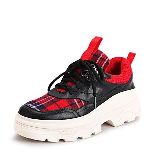 00a3efbba5 Yan amp; Casual New Passeggio 2019 Sneakers Donna Scarpe Tessuto B ...