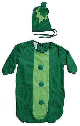 Fun World Green Sweet Pea Pod Bunting Baby Costume [9696]]()