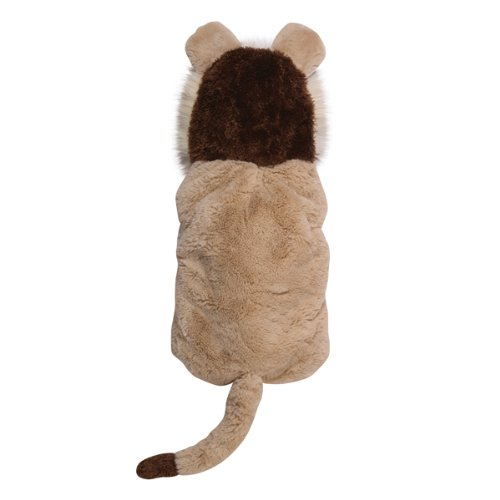 Costume Dane Lion Great (Casual Canine Polyester 8-Inch Lil Lion Dog Costume,)