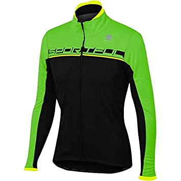 Chaqueta Sportful Giro SoftShell Verde-Negro 2017: Amazon.es ...