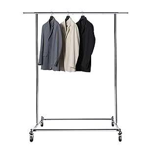Amazon Com Bigroof Clothing Rack 6 3ft Heavy Duty