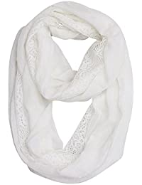 Soft Lace Infinity Scarf For Women - Reach USA CP65 Standard, 30-Day Refund Guaranteed