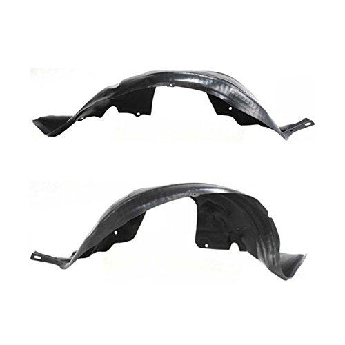 - Koolzap For 99-04 Mustang Front Splash Shield Inner Fender Liner Panel Left & Right SET PAIR