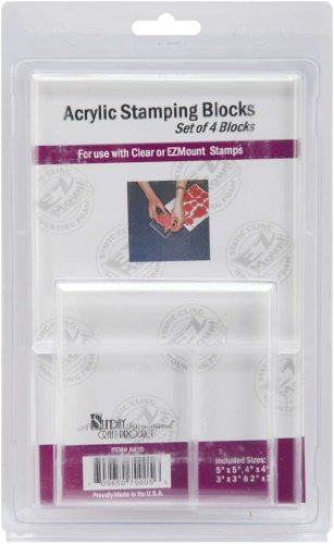 - Crafter's Companion Acrylic Block Add-On Set 4/Pkg-