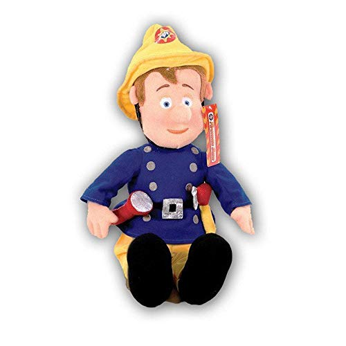 Sam Fleece - Linenideas Fireman Sam Plush Soft Toy
