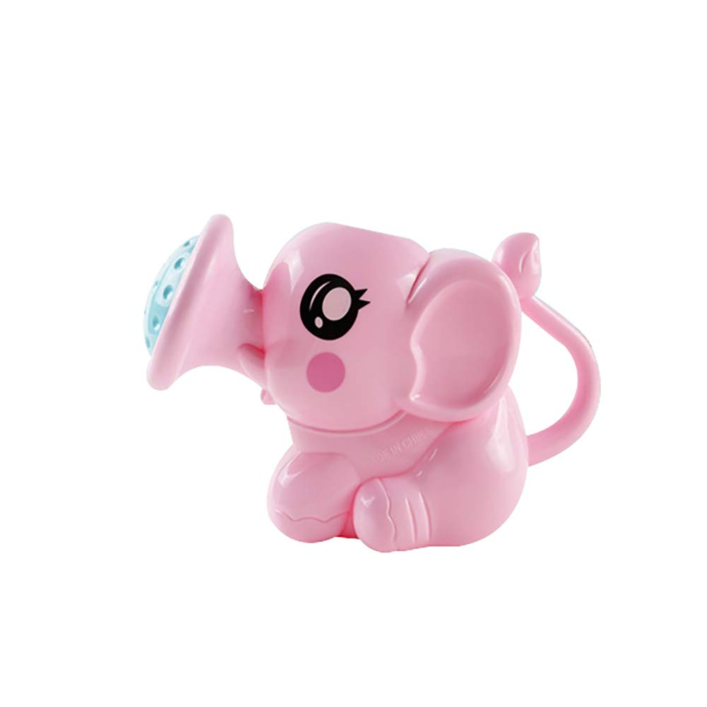 Maserfaliw Toys Sprinkling Cartoon Elephant Baby Bath Shower Plaything Parent-Child Interactive Game - Pink