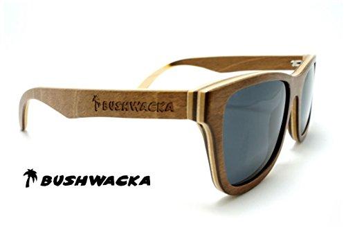 sol hecho mano laminado Bushwacka Master gafas madera a Polarizado de bambú Nuevo de Surf de qf6xwCg