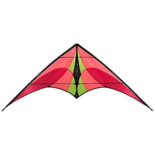 Prism Jazz Dual-line Stunt Kite, Fire (Best Beginner Stunt Kite)