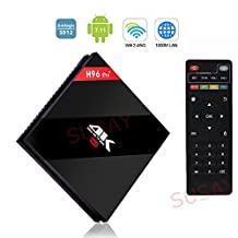 2018 Latest H96 pro plus 3g 32g+ Android 7.1 TV Box S912 Octa Core 1000M LAN 3D 4K Smart TV Player 3G DDR3 32G EMMC Flash with 802.11AC 1000M LAN WIFI
