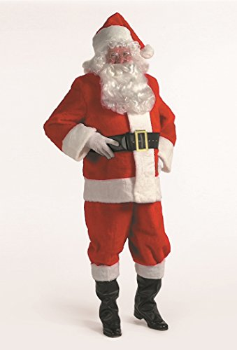 Kris Kringle Santa Claus Suit 3X Costume