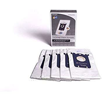 Electrolux Canister Classic Synthetic Type S Paper Bags 5 Pk Part # EL201-4