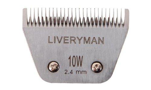 Liveryman Harmony Wide Clipper di ricambio per cavallo/animali, colore: bianco, 2,4mm