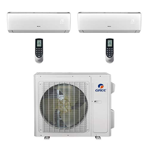Turbo Pump Controller - Gree MULTI24CVIR203-24,000 BTU Multi21+ Dual-Zone Wall Mount Mini Split Air Conditioner Heat Pump 208-230V (12-12)