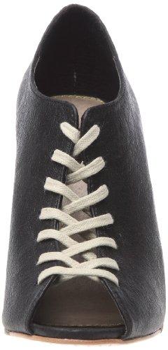 Feud Black Women's Marianne Vintage Britannia Wedges Heels O6OwxTr1q