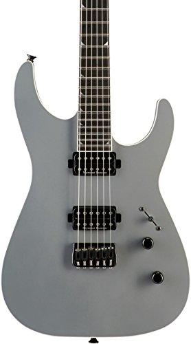 (Jackson Custom Select Dinky Hard Tail Electric Guitar Satin Battleship)