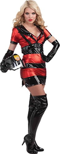 Sexy Fire Fighter Firewoman Costume Womens X-Small - Small 2-6 (Sexy Firewoman Costume)