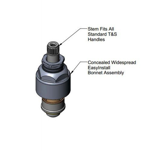 T/&S Brass 016768-25 CWS Easy Install LTC Cerama