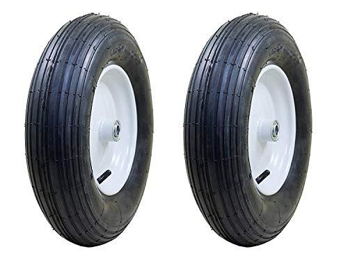 Marathon Industries 20063 4.80/4.00-8-inch Pneumatic Ribbed Wheelbarrow Tire