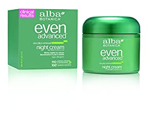Alba Botanica Even Advanced, Sea Plus Renewal Night Cream, 2 Ounce