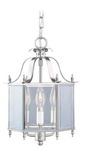 Livex Lighting 4403-91 Home Basics 3 Light Brushed Nickel Ha