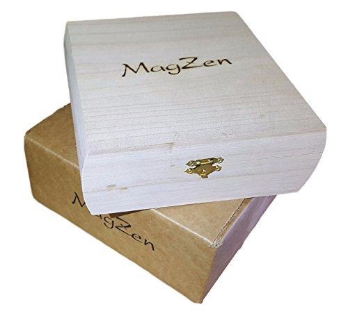 Alien MagZen - Unique Magnetic Alien Zen Garden Zen Box, Tabletop/Desktop Zen Garden Kit for Relaxation, Stress Relief, Creativity and Magnetic Science (Alien Version) (Alien) by MagZen (Image #3)