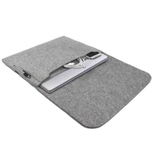 Ativ Books with 33.78 cm Ultrabook Case Felt Cover Laptop Sleeve Soft Shell Jacket Light Grey 7 eFabrik Samsung Serie 5 Protective Bag for Ultra Notebooks 9