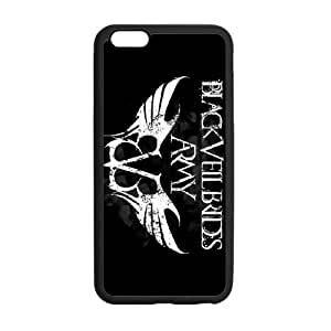 RAROFU Black Veil Brides Custom Case for iPhone6 Plus 5.5(Laser Technology)