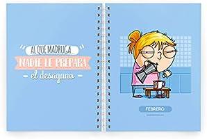 Missborderlike - Agenda escolar 2019-2020 - La vida es mia y la vivo como quiero