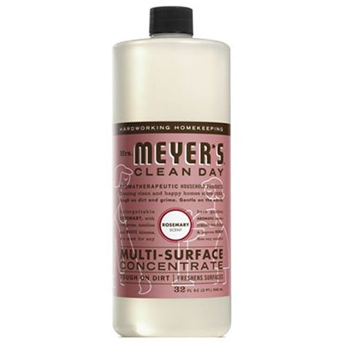 Mrs. Meyer's Multi Surface Concentrate, Rosemary, 32 Fluid Ounce - Mrs Meyers Cleaner Lavender