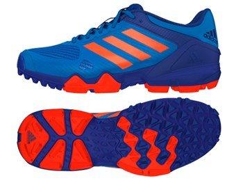 adidas adipower hockey iii shoes blue/orange