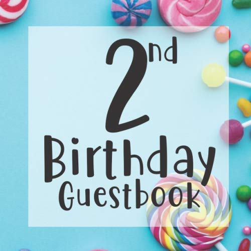 Themed Events - 2nd Birthday Guest Book: Tutti Frutti