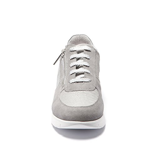 394 para Plata Easy'n Rose Sneakers Mujer Cemento Gris 007 xBgESFEqw