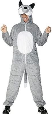 Disfraz de lobo gris max, 180 cm Wolf traje traje de diseño ...