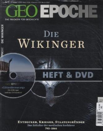 GEO Epoche mit DVD 53/2012:  Die Wikinger / DVD