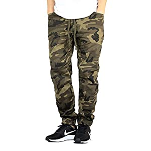 AIRNINE Men's Premium Twill Drop Crotch Jogger Pants S-5XL