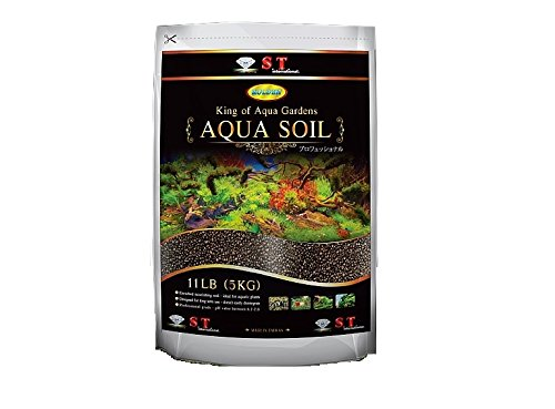 S.T. International Aqua Soil for Aquarium Plants, 11-Pound, ()