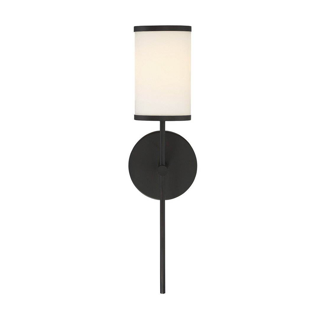 Trade Winds Lighting TW021795ORB 1-Light Traditional Wall Sconce in Oil Rubbed Bronze