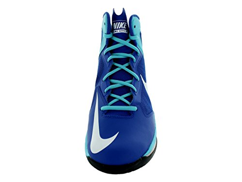 Nike Heren Prime Hype Df Basketbalschoen Spel Royal / Wit / Pht Bl / Wlf Gry