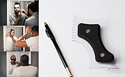 The Cut Buddy Template for Hair, Beard & Mustache - Haircut Lining / Shaping / Edging / Trim