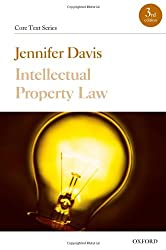 Intellectual Property Law (Core Text Series)