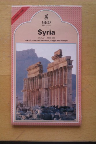 Syria Travel Map (Arab World Map Library)...