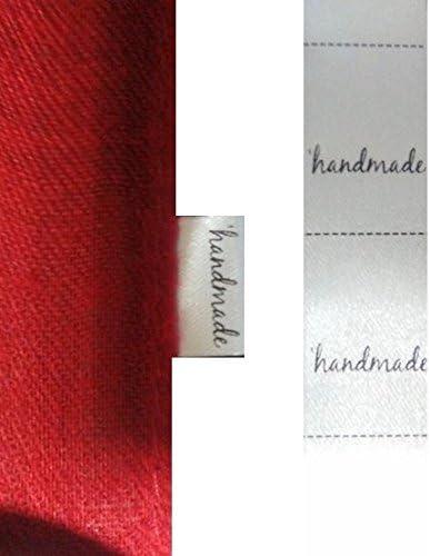200 etiquetas textiles Handmade, para coser a costura en tus ...
