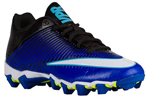 Nike Mens Vapor Shark 2 Football Cleat (10, Blue/Black) (Nike Mens Vapor Football Cleats)
