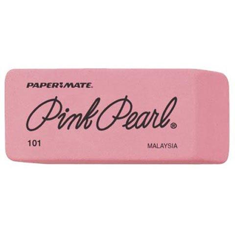 Better Crafts PINK PEARL ERASER NO 101 (12 pack) (0FC705210)