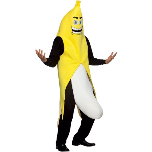 Banana Flasher Adult Costume - One Size -